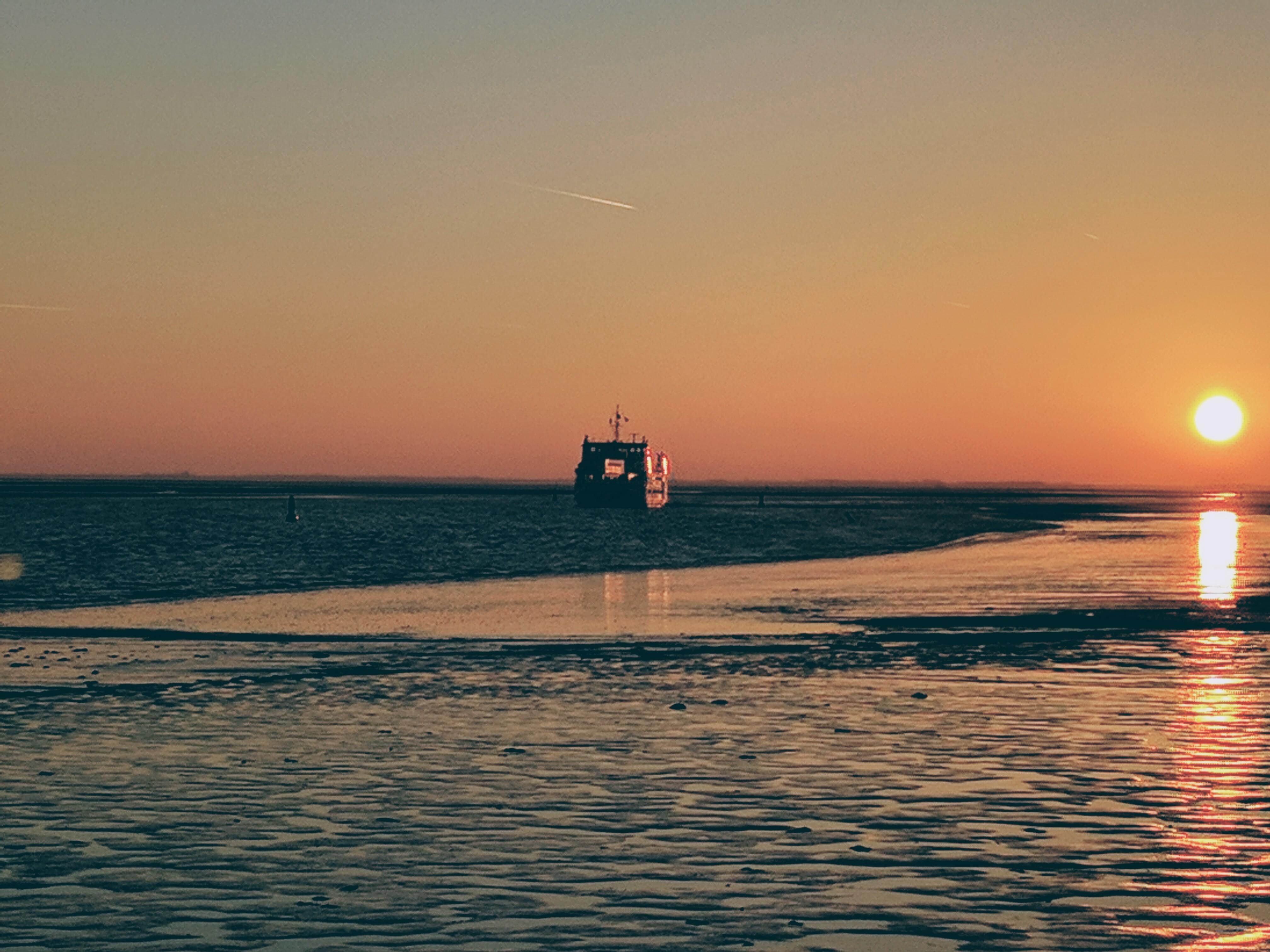 aankomst boot